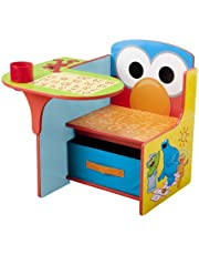 Sesame Street Delta Children Chair Desk With Storage Bin