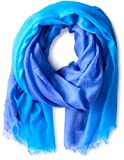 Sofia Cashmere Featherweight 100% Cashmere Wrap, Blue Ombre, One Size