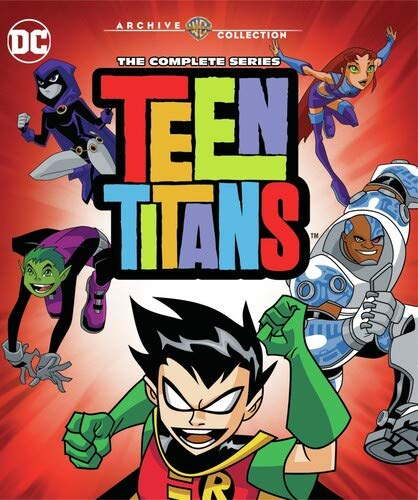 Teen Titans Complete Series Blu-Ray Set Dropped To Under $32