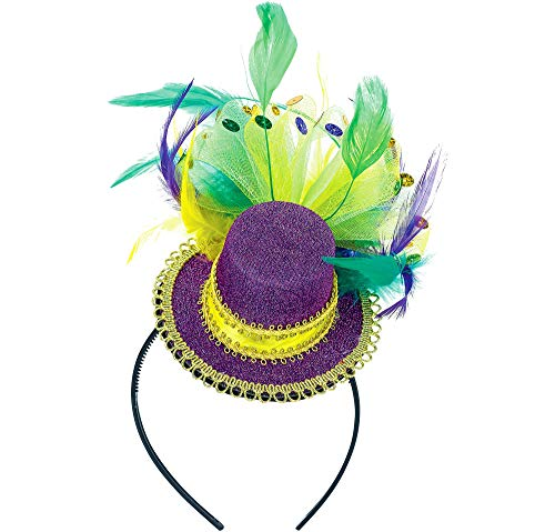 Fashion Mardi Gras Headband -