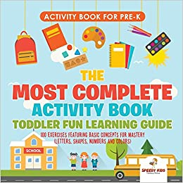 Activity Book for Prek. The Most Complete Activity Book Toddler Fun ...