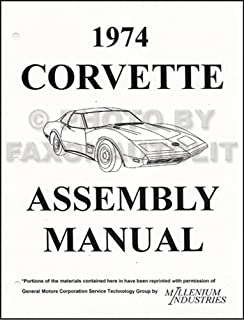 1974 corvette stingray owner s manual reprint 74 chevrolet corvette rh amazon com 1974 corvette owners manual pdf 1974 corvette stingray owners manual