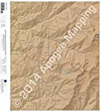 Aspen Basin, New Mexico 7.5 Minute Topographic Map - Waterproof Paper