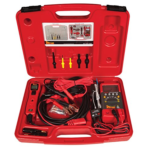 Power Probe PPROKIT01 Red Professional Testing Electrical Kit by Power Probe