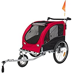 Angelwing Trailer Dog Pet Bike Bicycle Stroller Carrier Suspension Jogging Houndabout 2 IN 1