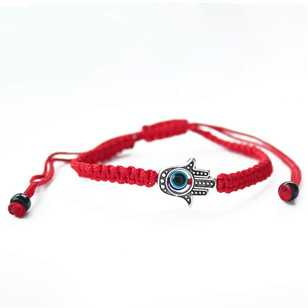 DARLING HER Lucky Red String Thread Rope Bracelet Blue Turkish Evil Eye Charm Little Girls Kids Children Braided malist Jewelry