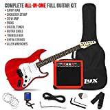 LyxPro 39 inch Electric Guitar Kit Bundle with