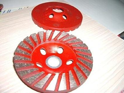 """15 piezas: 5 """"125 mm Diamond Heavy Duty Segmento turbo Molienda Copa Rueda"""
