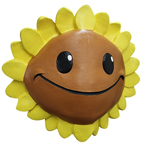 Ghoulish Productions Sunflower Plants Vs Zombies Adult Mask (Sunflower Costumes For Adults)