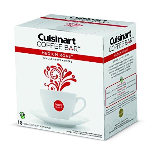Sale!! Cuisinart COFCAP-MD18 Coffee Bar Medium Roast, White