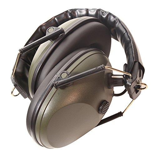 Auriculares y micrófono electrónico de Protear, para práctica de tiro, caza, protección de escucha, NRR, 24 dB, color verde militar: Amazon.es: Bricolaje y ...