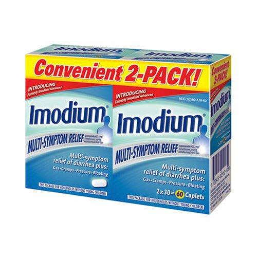 Imodium Multi-Symptom Relief , 30 ct - 2 Packs by Imodium