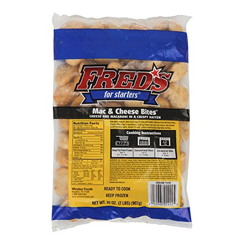 Fred's Macaroni and Cheese Bites, 2 lb, (6 per case)