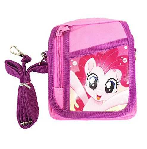 Little Pony Purse (Small My Little Pony Magic Girls Small Shoulder Bag/Passport/Pencil Case Pink)