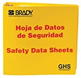 Binder,Right to Know Safety Data Sheet