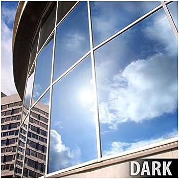 BDF EXS15 EXTERIOR Window Film Privacy and Sun Control Silver 15 ...