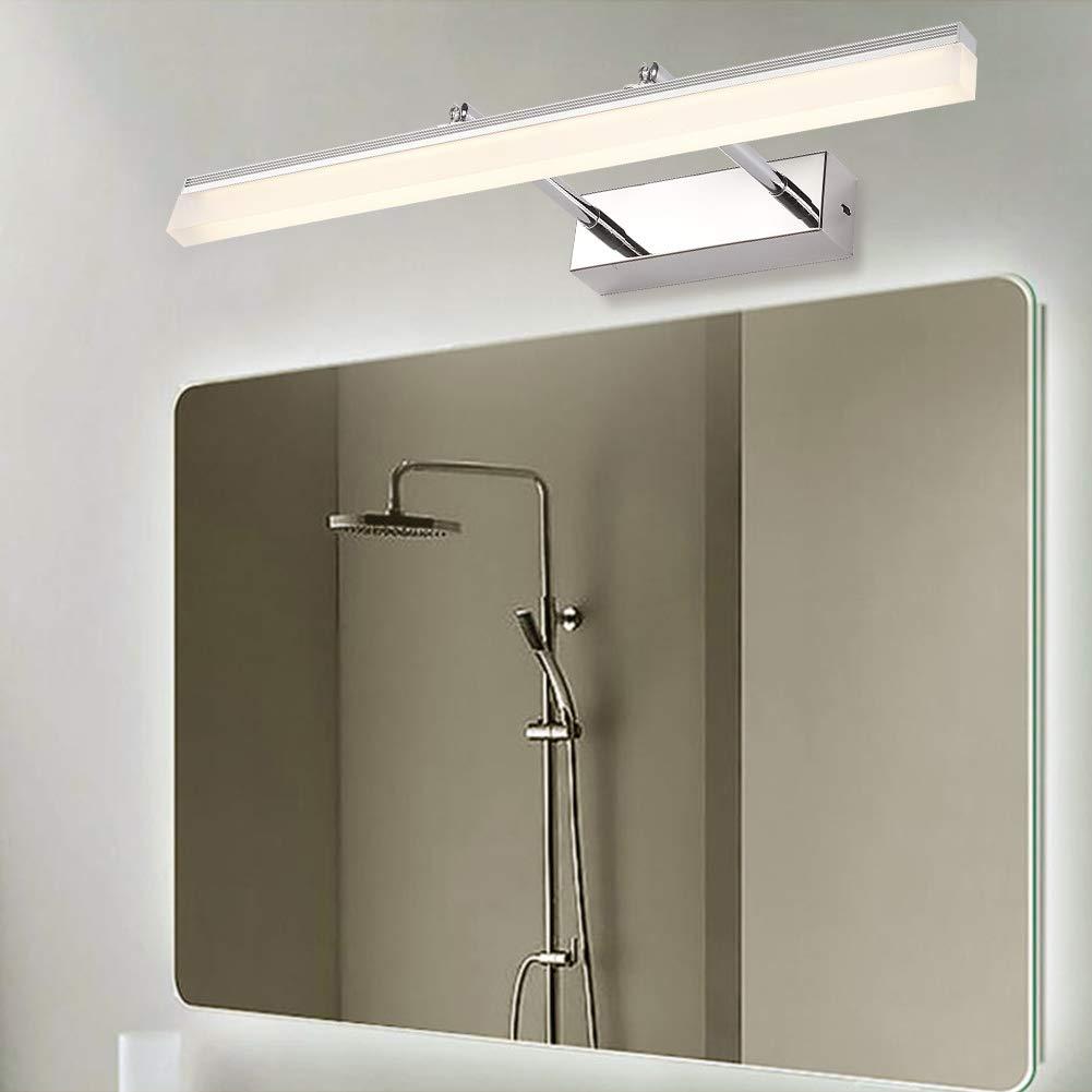 Ralbay Lámpara de baño LED Lámpara de espejo Aplique de ...