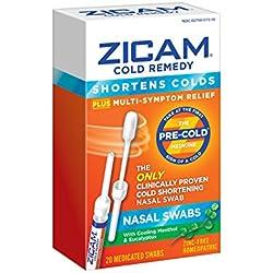 Zicam Cold Remedy Nasal Swabs, 20 Count
