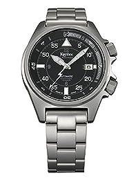 Kentex LANDMAN Men's Automatic Black Dial Watch S678X-05