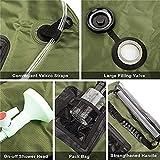 AJDGL Portable Camping Shower Bag, Solar Shower Bag