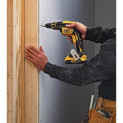 DEWALT DCF620D2 2.0AH 20-volt MAX XR Li-Ion Brushless Drywall ScrewGun