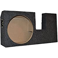 New Ford F150 Super Cab/ Extended Cab Single 10 Subwoofer Enclosure Sub Box 2004-2008