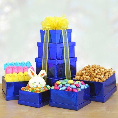 Elegant Easter -Gourmet Easter Gift Tower of Premium Easter