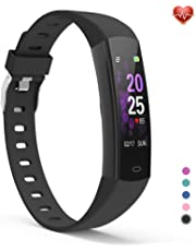 YoYoFit Kids Fitness Tracker Watch, Slim Kids Activity Tracker Sports Pedometer Watch with Heart Rate, Upgrated Digital Kids Alarm Clock Step Calorie Sleep Health Tracker as Best Fitness Gift