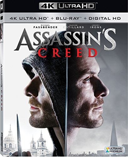 4K Blu-ray : Assassin's Creed (4K Mastering, Digitally Mastered in HD, Dubbed, , Widescreen)