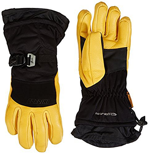 Gordini Women's The Polar Gloves Black Gold L