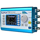 Kuman 20MHz High Precision DDS Function/Arbitrary Waveform Generator with 2.4'' TFT Digital Dual-channel 200MSa/s ,100MHz Frequency Meter Signal Generator FY2300