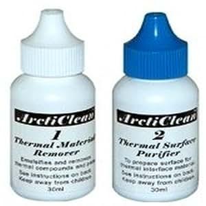 Arctic Silver ArctiClean 1+2, 2x30ml 2ml - Limpiador (2x30ml, 2 ml)