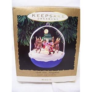 1993 Hallmark Keepsake North Pole Merrython Ornament