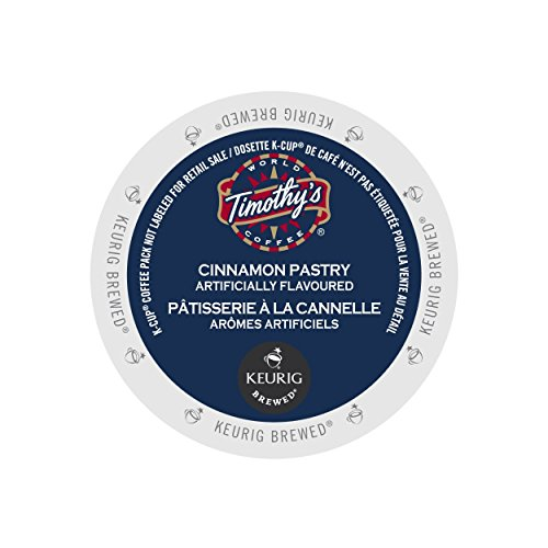 (Timothy's World Coffee Cinnamon Pastry K-Cup (24 count))
