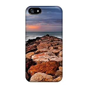 New Arrival Premium For Ipod Touch 4 Phone Case Cover (rock Water Breaker)