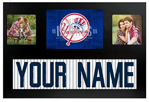 New York Yankees MLB Custom Jersey Nameplate and Logo Picture (New York Yankees Team Pictures)