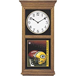 NFL Green Bay Packers Regulator Clock