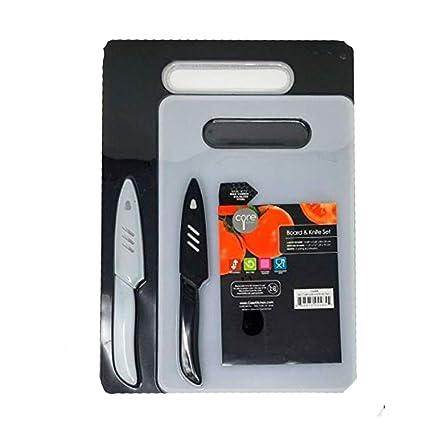 Amazon.com: Core Cocina 6 PC Junta y cuchillo Set w/dos ...