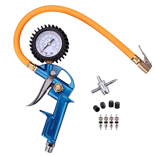 air chuck with pressure gauge - 4