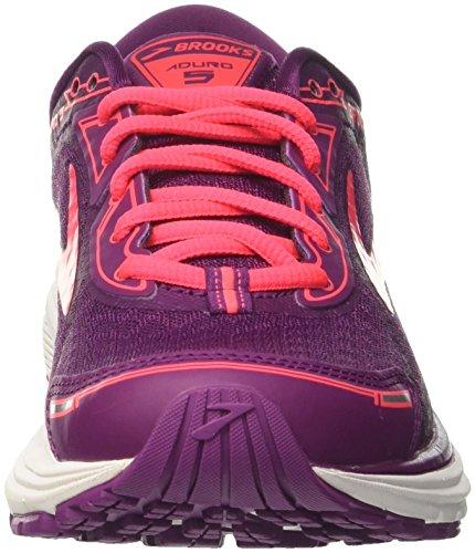 Chaussures 5 Aduro purplepinkblack 1b544 Brooks Femme Running Violet De 7xE5qqzCw