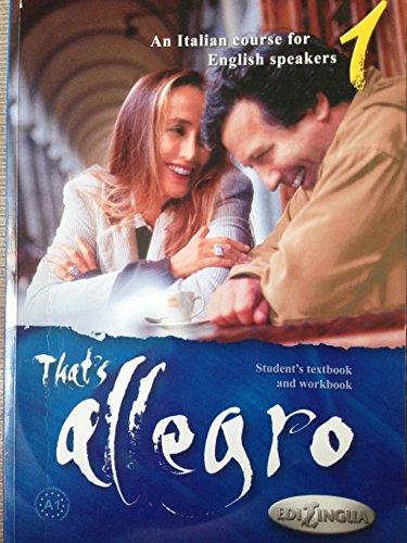 That's Allegro: Bk. 1