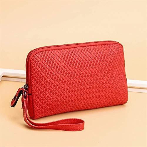 Rose Moontang Rouge coloré Porte Taille Embrayage Sacs Monnaie Main Monnaie Porte Femmes à v4qrwv