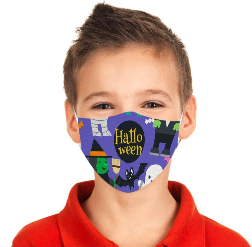 Reusable Breathable Mouth Covering 1PCS Children Cloth Polyester Washable Face M/àsc Bandanas Anti 3