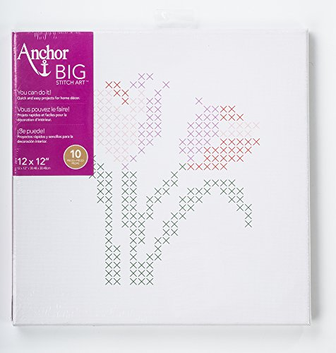 Anchor Big Stitch Counted Cross-Stitch Kit w/Embroidery Flos