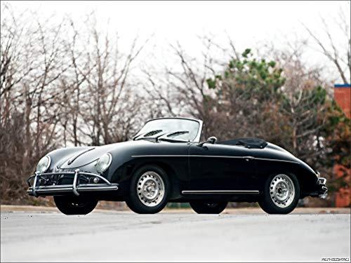 Innerwallz Porsche 356B 1600 T-2 Super Cabriolet D 1959 Cars Wall Art, Pop Art, Poster, Art Prints | Rare Posters ()