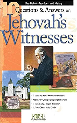 10 Questions & Answers on Jehovah's Witnesses pamphlet: Key