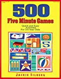 500 Five Minute Games, Jackie Silberg, 0876591721