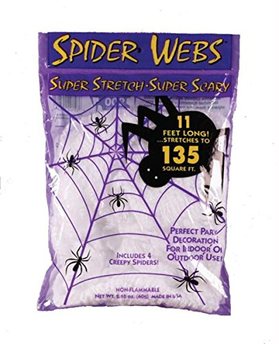 Spooky Halloween Stretch Spider (Fun Halloween Games For 12 Year Olds)