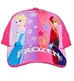 Frozen Elsa and Anna Girls Baseball Cap Hat