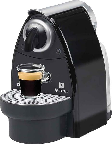 Nespresso Essenza Piano Krups - Cafetera monodosis (19 bares), color negro